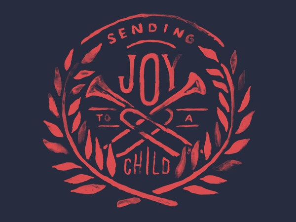Operation Christmas Child #logo #watercolor #joy #leaves