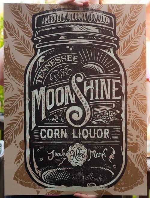 Typeverything.com Moonshine Corn Liquor by... Typeverything #typo