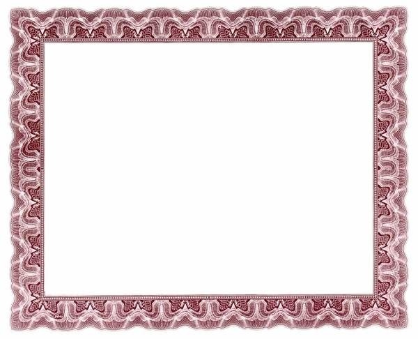 Certificate borders for word document in Border Designs – Certificate Border Word