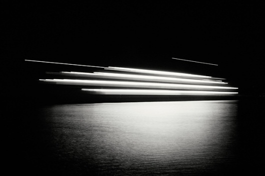 NKT wlppr by Niketo #night #photo #sea #black #reflection #water #ferry #niketo
