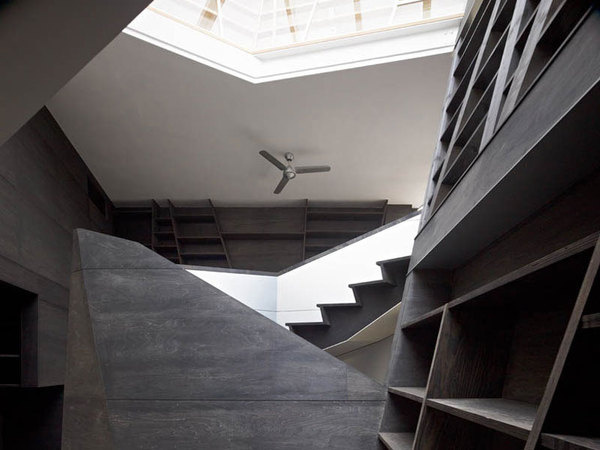 CJWHO ™ (architects atelier ryo abe | 'wishing well',...) #design #interiors #black #wood #tokyo #photography #architecture #japan