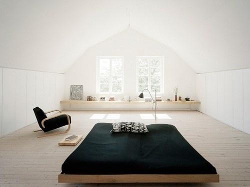DeadFix · #interior #white #home #bed #minimal