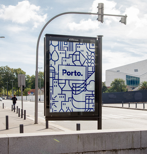 Varia — Design & photography related inspiration #branding #icon #iconograhy #city #portugal #best #iconic #minimal #porto #blue
