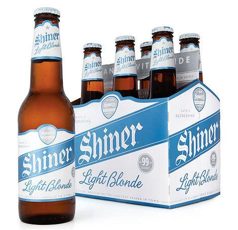 Shiner Light Blonde Bottles #packaging #beer #bottle