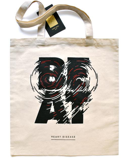 Print Magazine — Type treatment on Typography Served #heart #illustration #beat #typography