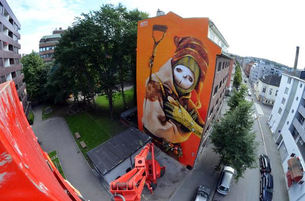 INTI, Oslo unurth | street art #design #character #art #street
