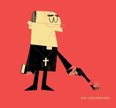 FFFFOUND! | adrian johnson ltd > artwork #prayers #say #adrian #your #johnson