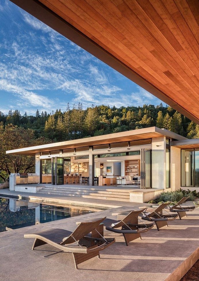 Family Compound in California Defined by a Perfect Indoor Outdoor Experience 4