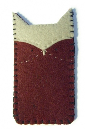 another owl sleeve for Iphone (3 & 4), ipod or... - #felt #handmade #owl #ckoe