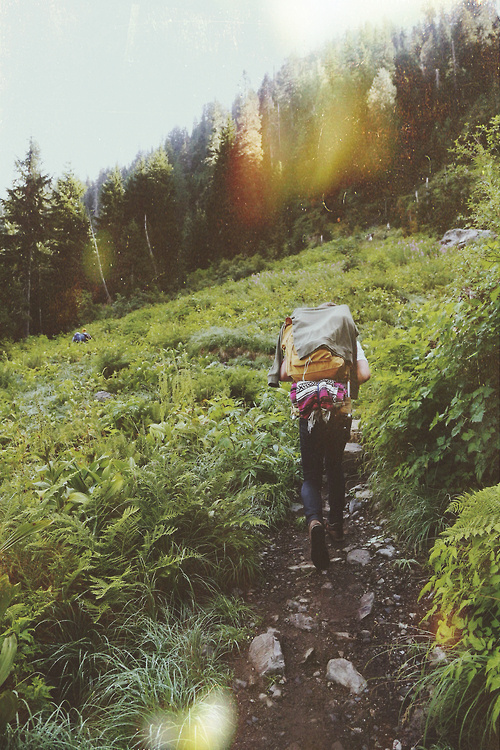 Tumblr #wandering #mountain #walk