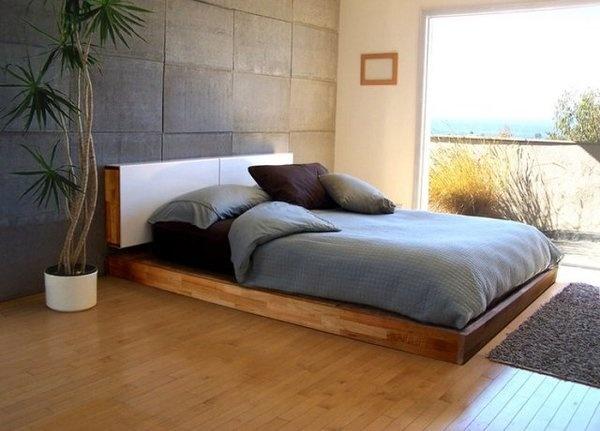 MASH Studios LAX Platform Bed #bed #modern