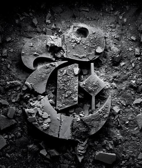 Typography inspiration #photography #stone #typography