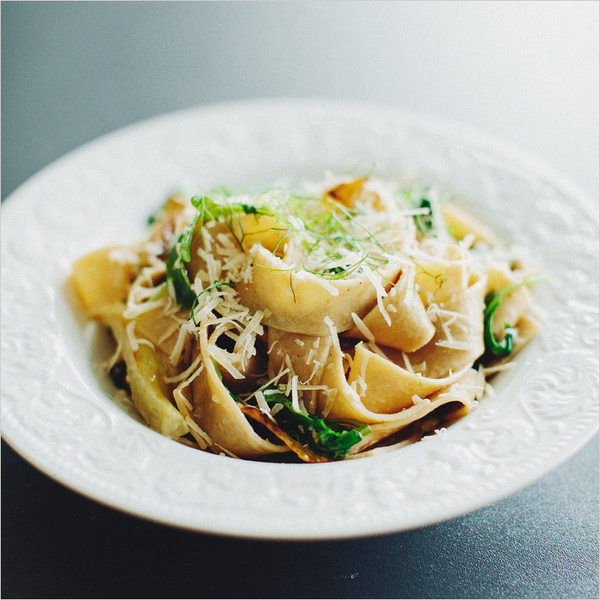 pasta with fennel, arugula & lemon . sprouted kitchen #food