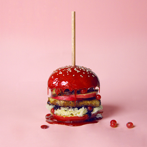 Varia — Design & photography related inspiration #food #photography #burger #hamburger #sweet #colorful #color