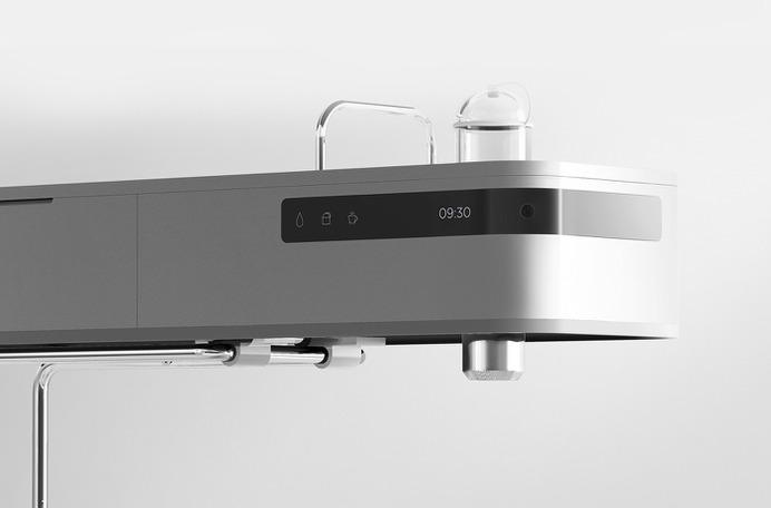 Minimal design Espresso machine -Screen