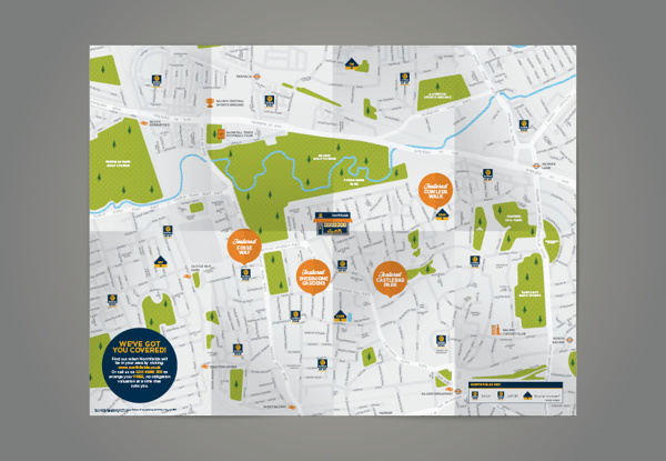 Northfields London Newsletters / Maps Collection on Behance #pattern #uncoated #iconset #grass #london #print #tube #book #texture #map #icons #illustration #tag #stock #bespoke #detail
