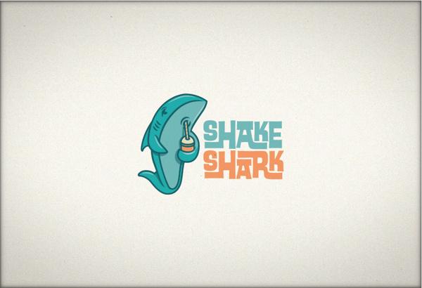Shake shark #ocean #food #shark #sea #shakes #milk #shake #animal
