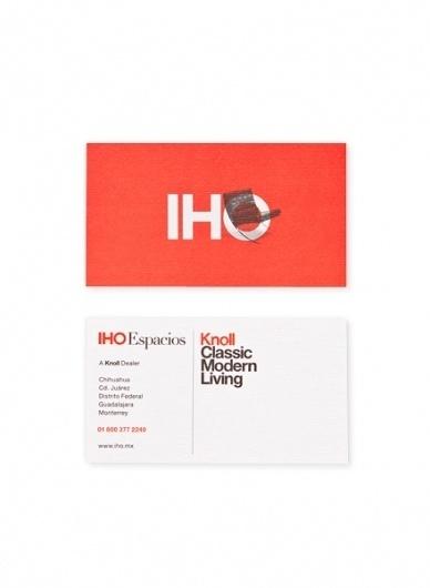 Face. Works. / IHO Espacios | Knoll. #branding #print #design #identity #logo #typography