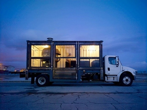 del popolo: mobile pizzeria #container #mobile #pizza