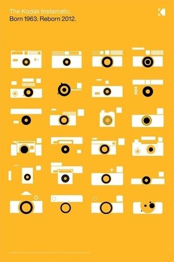 Dowling | Duncan – Kodak #print #design #graphic #poster #colour