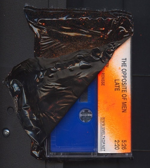 mathieuserruys: Tape made for the smeltkop-release of Faceneck #thing