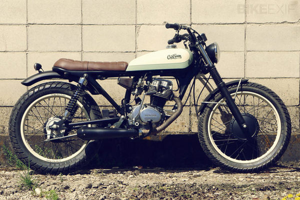 Honda CG125 #cafe