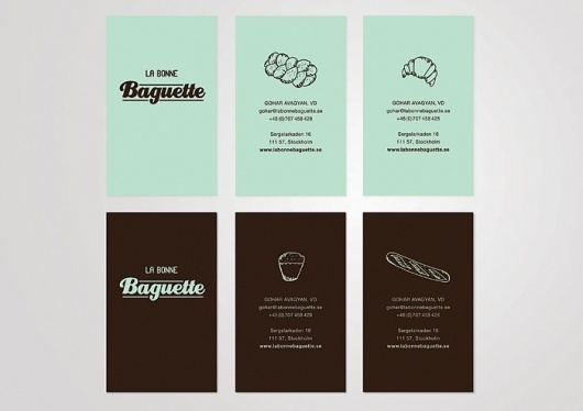 Gohar Avagyan – graphic designer #bakery #cards #business