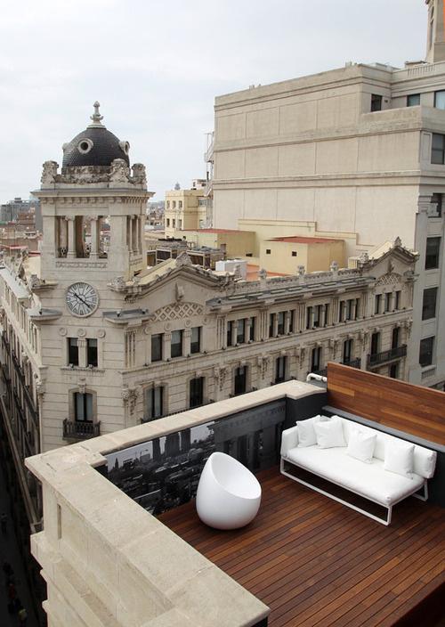 CJWHO ™ (Room Mate Pau Hotel, Barcelona) #spain #white #design #interiors #landscape #architecture #barcelona #view #luxury
