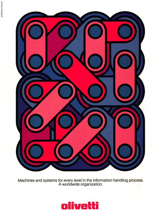 oliveti #illustration #poster