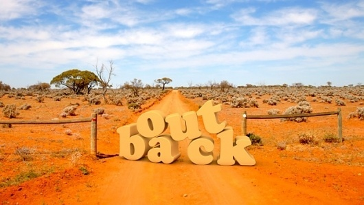 Vinay Ranchhod   Portfolio – Blog #australia #outback #typography