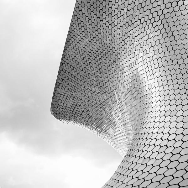 Wave... | Flickr Photo Sharing! #silver #facade #hexagon #wave