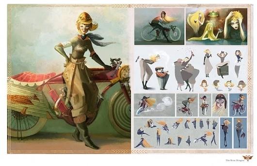 e t e l o i s: Portfolio #illustration #character #studies