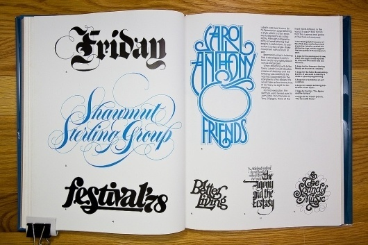 All sizes | Herb Lubalin | Flickr - Photo Sharing! #lettering #herb #lubalin #70s #vintage #custom #type #typography
