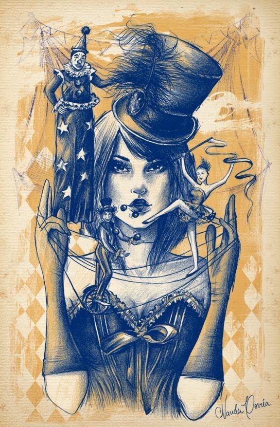 Illustrations by Nanda Correa #correa #illustrations #nanda