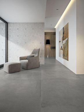 Grande concrete look - Effetto Cotto e Cemento - Salotto