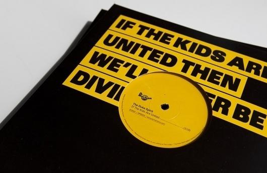 Butter #packaging #yellow #record #block #vinyl