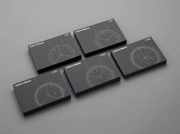 Uniform Wares Visual Identity Collateral #visual #six #branding #print #by #identity #made
