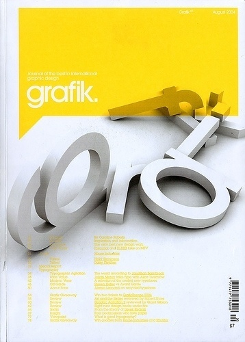 Graphic-ExchanGE - a selection of graphic projects #grafik #editorial #magazine #typography