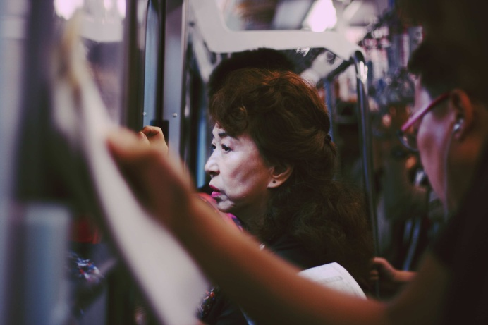 Tokyo Subway by Monika Jurczyk
