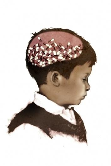 Katie So Illustration #katie #child #illustration #portrait #idea #editorial #so