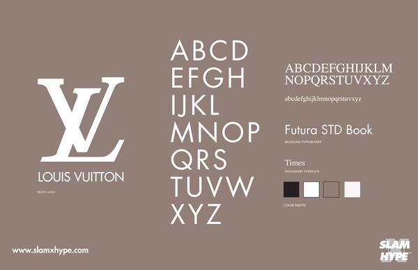 Louis Vuitton #font #louis vuitton
