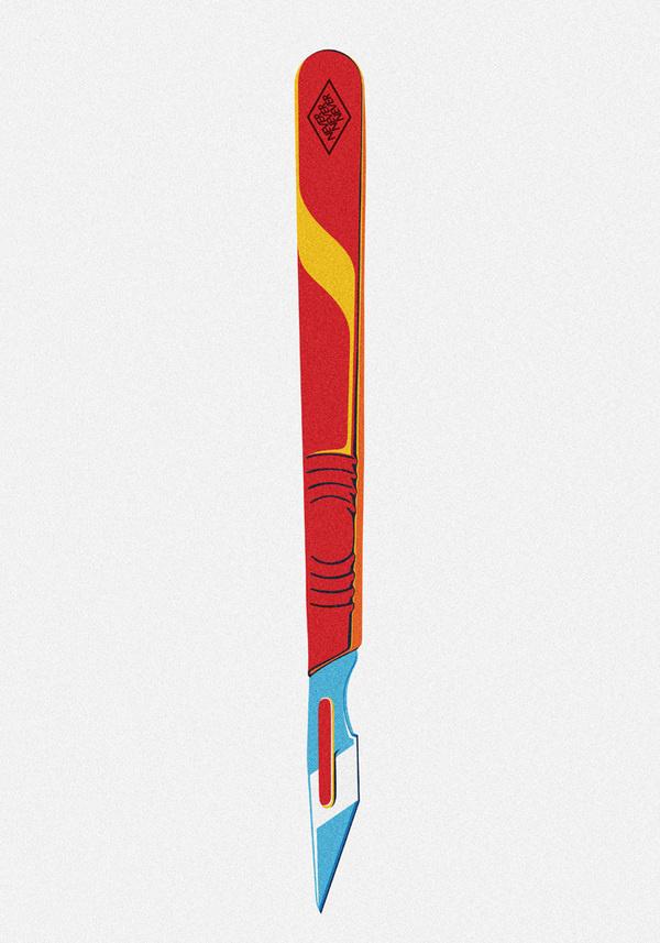 will_pomroy_scalpel #illustration