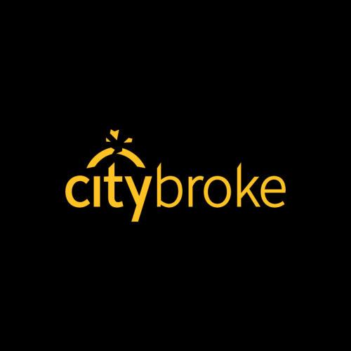 Citybroke #brand #parody #logo