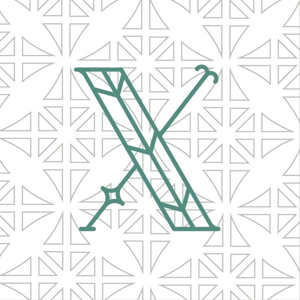 West end girl #letters #white #pattern #letterer #typography #letter #european #midieval #dutch #green