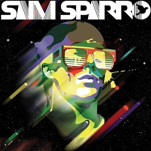 Sam Sparro : Steve Wilson - Illustrator #steve #wilson #space #cover #illustration #colors #art #sparro #sam