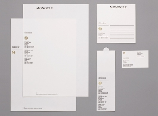 Modern Publicity #letterhead #identity #stationary #typography