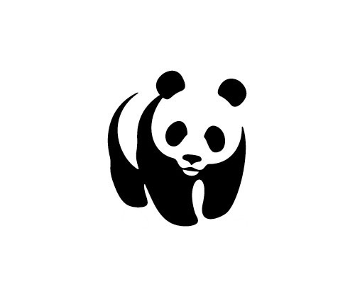 WWF logo sketches | Logo Design Love #jenny #landor #sanfran #leibundgut #panda #wwf #logo