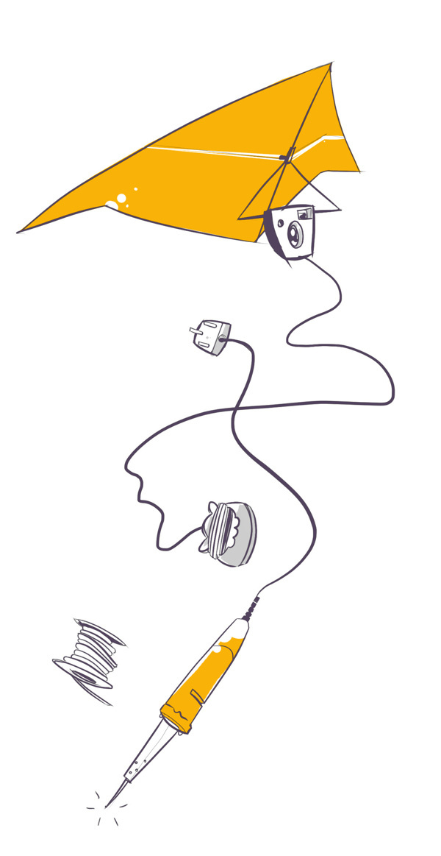 Hacktivist #illustration #design #editorial