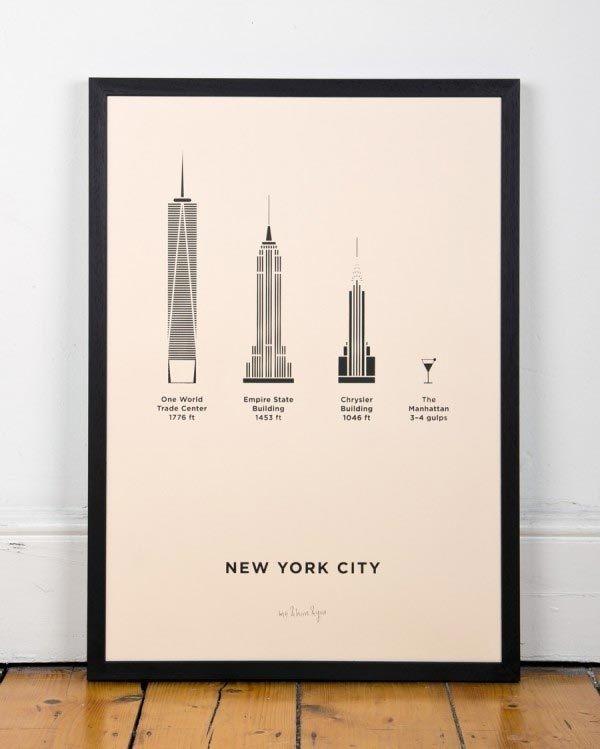 New York City posters #city #design #simple #poster #art #york #usa #new