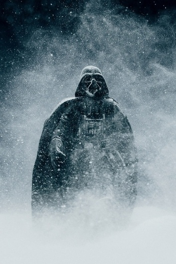 tumblr_lzc64iP2kK1r768kpo1_1280.jpg (620×930) #darth #vader #snow